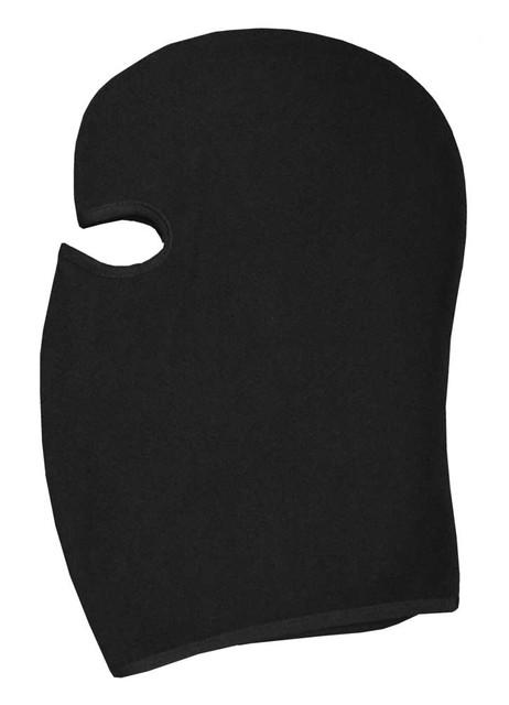 Redline Leather Unisex Full Face Head Mask, Soft Black Fleece Cloth 9003 - Wisconsin Harley-Davidson