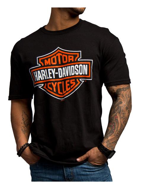 Harley-Davidson Men's Significant Bar & Shield Short Sleeve T-Shirt 5503-8842 - Wisconsin Harley-Davidson