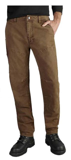 Harley-Davidson Men's Straight Leg Fit Modern Canvas Pants, Brown 99023-17VM - Wisconsin Harley-Davidson