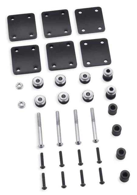 Harley-Davidson Docking Hardware Kit, Fits '04-later XL Models 90201424 - Wisconsin Harley-Davidson