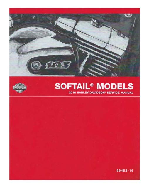 Harley-Davidson 2016 Softail Models Electrical Diagnostic Manual 99498-16 - Wisconsin Harley-Davidson