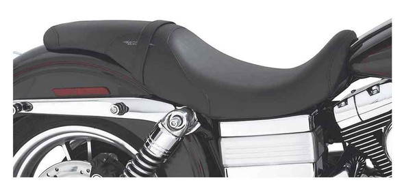 Harley-Davidson Badlander Rider & Pillion Seat, '06-later Dyna Models 52284-06 - Wisconsin Harley-Davidson