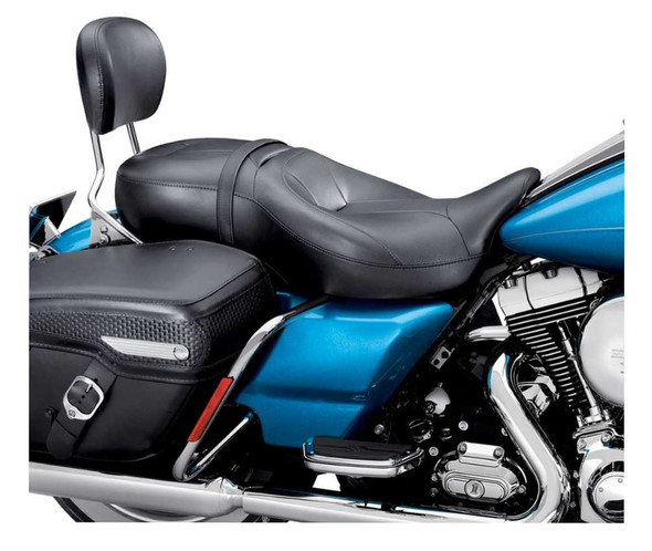 Harley-Davidson Hammock Rider & Passenger Touring Seat, Fits '09-'13 52000003A - Wisconsin Harley-Davidson