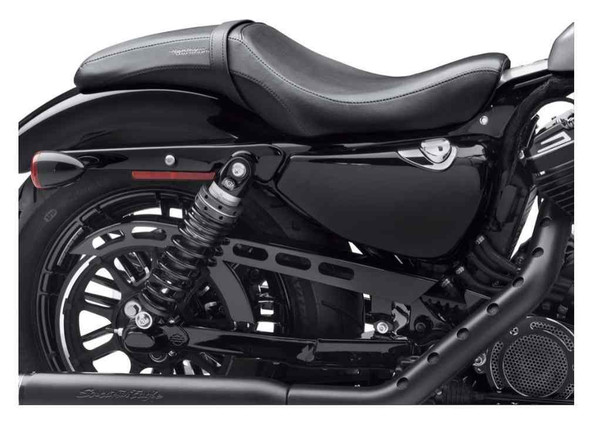 Harley-Davidson Leather Badlander Seat, Fits '10-later XL Models 52000259 - Wisconsin Harley-Davidson