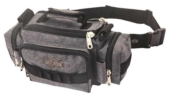 "Harley-Davidson ""Molle"" Versatile Lightweight Sidekick Bag, Gray  99403-GB - Wisconsin Harley-Davidson"