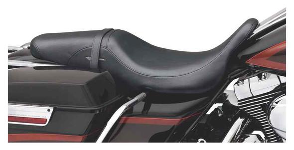 Harley-Davidson Badlander Seat, Fits '08-later Touring models 52067-08A - Wisconsin Harley-Davidson