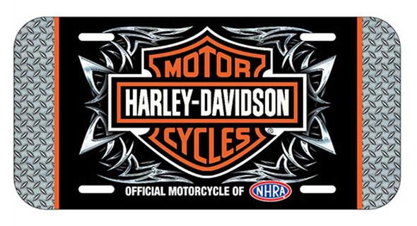 Harley-Davidson Screamin' Eagle Tribal License Plate, 6 x 12 inch HARLNV009500 - Wisconsin Harley-Davidson