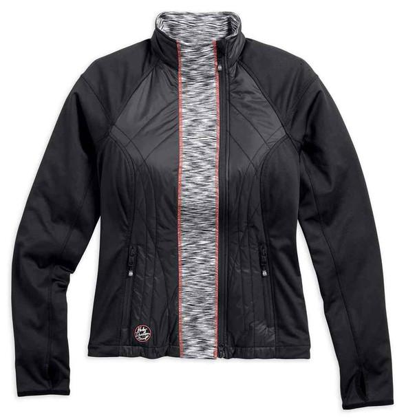 Harley-Davidson Women's Drift Packable Thermal Mid-Layer Jacket 97400-17VW - Wisconsin Harley-Davidson