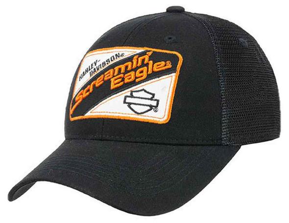 Harley-Davidson Mens Screamin' Eagle Mechanic Trucker Snap Back Cap HARLMH030700 - Wisconsin Harley-Davidson