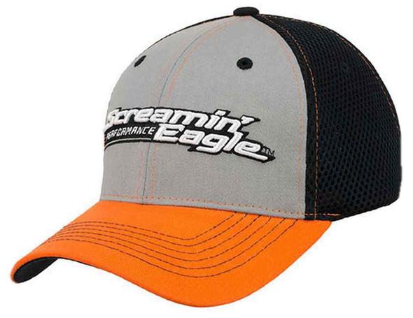 Harley-Davidson Men's Screamin' Eagle Pit Crew Flex Baseball Cap HARLMH0304 - Wisconsin Harley-Davidson