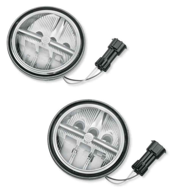 Harley-Davidson 4.5 in Daymaker Reflector LED Auxiliary Lamps 68000075 - Wisconsin Harley-Davidson
