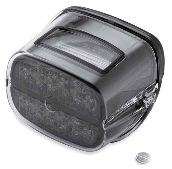 Harley-Davidson Bar & Shield LED Tail Lamp - Smoke Lens & Black Bezel 68087-08 - Wisconsin Harley-Davidson