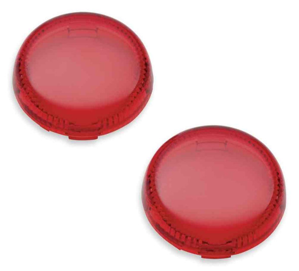 Harley-Davidson Lenses For LED Bullet Turn Signal Insets - Red 67800645 - Wisconsin Harley-Davidson