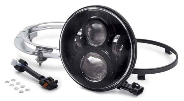 Harley-Davidson 7 in Daymaker Projector LED Headlamp - Gloss Black 67700266 - Wisconsin Harley-Davidson
