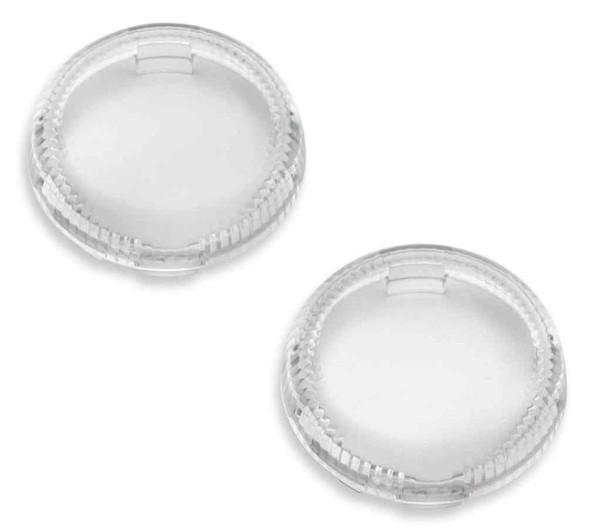 Harley-Davidson Lenses For LED Bullet Turn Signal Insets - Clear 67800644 - Wisconsin Harley-Davidson