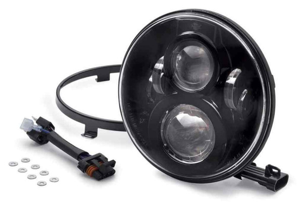 Harley-Davidson 7 in Daymaker Projector LED Headlamp, Fits Trike Models 67700267 - Wisconsin Harley-Davidson