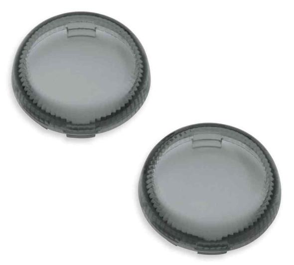 Harley-Davidson Lenses For LED Bullet Turn Signal Insets - Smoked 67800643 - Wisconsin Harley-Davidson