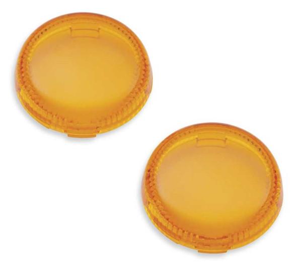 Harley-Davidson Lenses For LED Bullet Turn Signal Insets - Amber 67800642 - Wisconsin Harley-Davidson