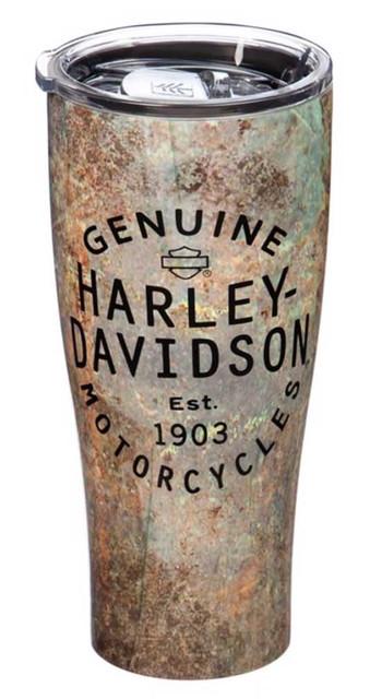 Harley-Davidson Stainless Steel Genuine H-D Refresh Beverage Cup, 17oz. 3SSH4921 - Wisconsin Harley-Davidson