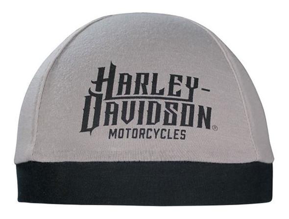 Harley-Davidson Men's Harley Life Script Skull Cap, Gray & Black SK22012 - Wisconsin Harley-Davidson
