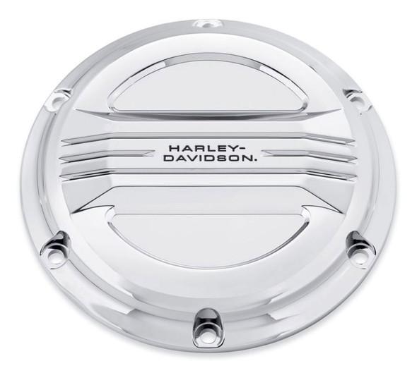 Harley-Davidson Airflow Derby Cover - Mirror Chrome, Fits XL Models 25700506 - Wisconsin Harley-Davidson