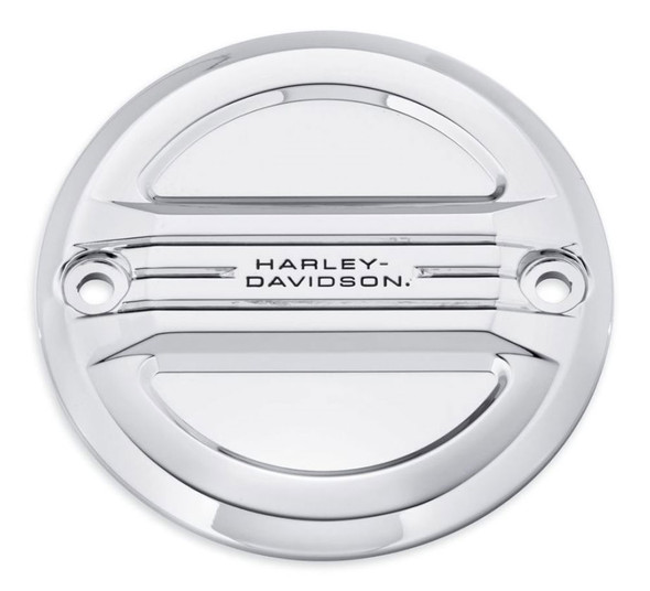 Harley-Davidson Airflow Timer Cover - Mirror Chrome, Fits XL Models 25600047 - Wisconsin Harley-Davidson