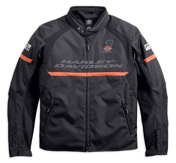 Harley-Davidson Men's Killian Riding Functional Jacket, Black 98235-18VM - Wisconsin Harley-Davidson