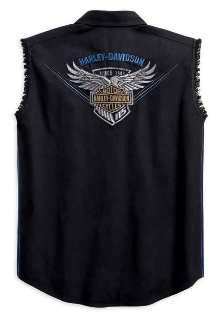 Harley-Davidson Men's 115th Anniversary Blowout Limited Edition Shirt 99004-18VM - Wisconsin Harley-Davidson