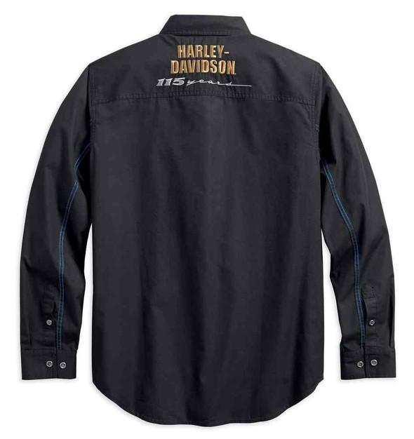 Harley-Davidson Men's 115th Anniversary Ripstop Limited Edition Shirt 99009-18VM - Wisconsin Harley-Davidson