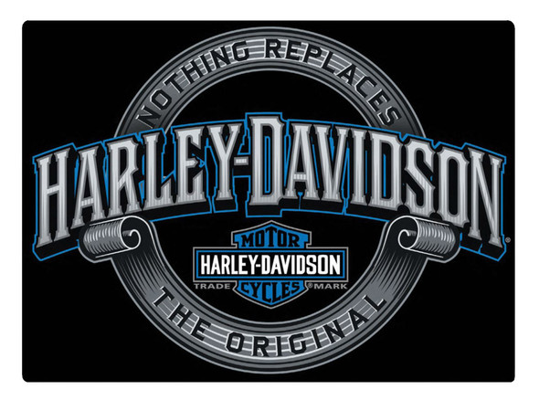 Harley-Davidson Irreplaceable H-D Embossed Tin Sign, 17 x 12.5 inches 2011361 - Wisconsin Harley-Davidson