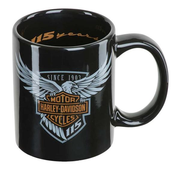 Harley-Davidson 115th Anniversary Limited Edition Coffee Mug, 12 oz. HDX-98600 - Wisconsin Harley-Davidson