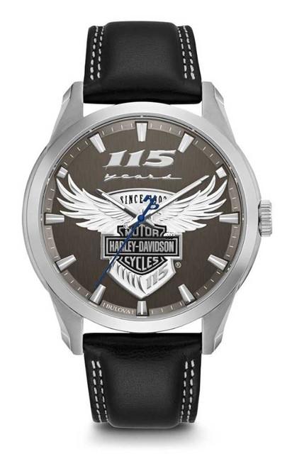 Harley-Davidson Men's 115th Anniversary Limited Edition Watch 76A160 - Wisconsin Harley-Davidson
