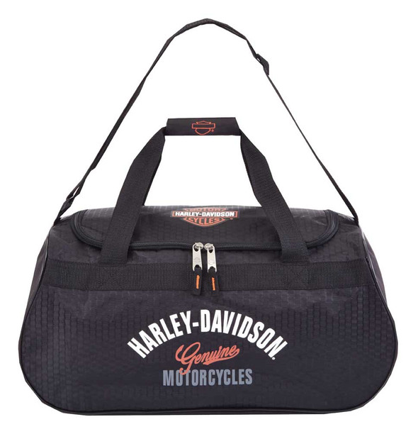 Harley-Davidson Tail Of The Dragon Collection Sports Duffel Bag w/ Strap 99418 - Wisconsin Harley-Davidson