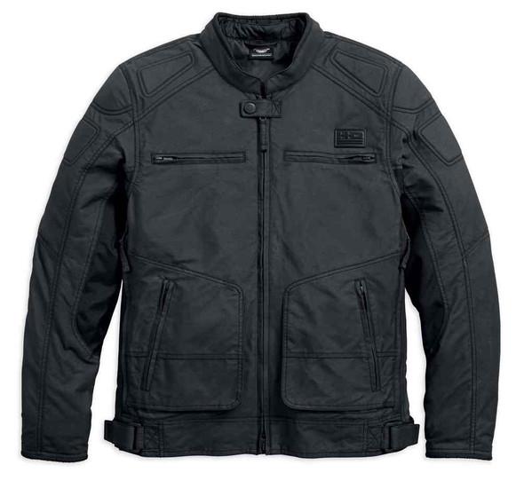 Harley-Davidson Men's Bentan Water-Resistant Riding Jacket, Black 97227-18VM - Wisconsin Harley-Davidson