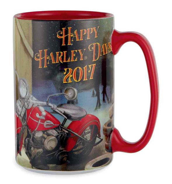 Harley-Davidson 2017 Biker Santa Collector Ceramic Mug, 15 oz. 96898-18V - Wisconsin Harley-Davidson