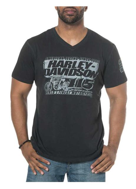 Harley-Davidson Men's 115th Anniversary Renaissance V-Neck Short Sleeve T-Shirt - Wisconsin Harley-Davidson