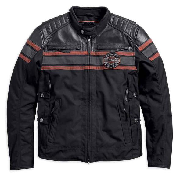 Harley-Davidson Men's Triple Vent System Rutland Riding Jacket 98160-18VM - Wisconsin Harley-Davidson