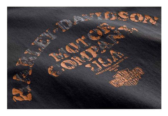 Harley-Davidson Men's Layered Print Slim Fit Short Sleeve T-Shirt 99093-18VM - Wisconsin Harley-Davidson