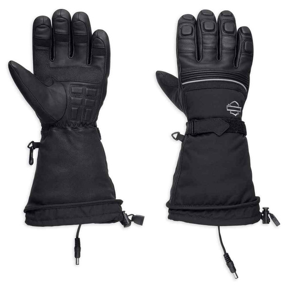 Harley-Davidson Men's Heated BTC 12V Waterproof Gauntlet Gloves 98298-17VM - Wisconsin Harley-Davidson