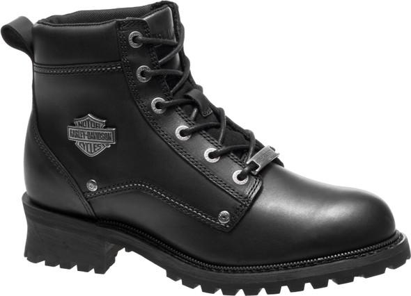 Harley-Davidson Men's Bozeman 5.25-Inch Black Leather Motorcycle Boots D96156 - Wisconsin Harley-Davidson