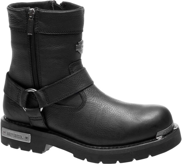 Harley-Davidson Men's Cromwell Black or Brown Motorcycle Boots D93494 D93493 - Wisconsin Harley-Davidson