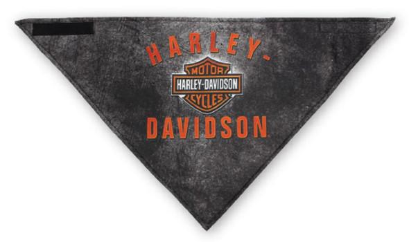 Harley-Davidson Men's 3-in-1 Convertible B&S Rockers Bandana, Black BAC28364 - Wisconsin Harley-Davidson