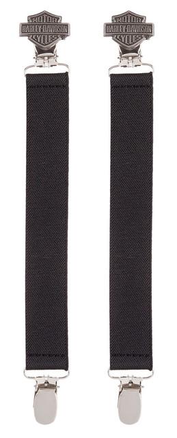 Harley-Davidson Men's Bar & Shield Logo Boot Clip, Sold In Pair HDMBS11510 - Wisconsin Harley-Davidson
