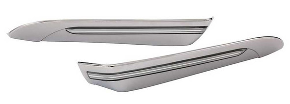 Ciro Light Accents For Harley Tour-Pak, Smooth Styling, Chrome or Black Finishes - Wisconsin Harley-Davidson
