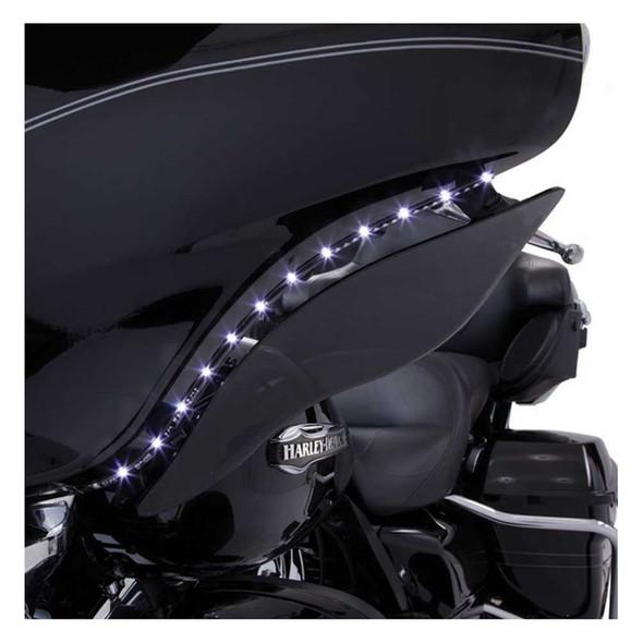 Ciro '14-up H-D Touring LED Bat Blades - Black, Easy Installation 45102 - Wisconsin Harley-Davidson