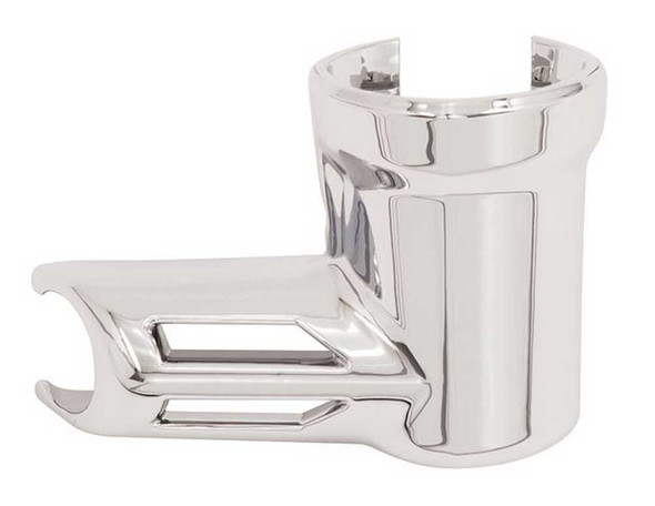 Ciro Fuel Fitting Cover, Fits Harley Twin Cams - Chrome Plated Aluminum 73000 - Wisconsin Harley-Davidson