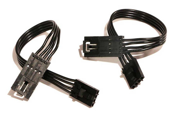 Ciro Shock & Awe 6 in. Extension Wires, Two Wires Plug Into Ciro Kit 41005 - Wisconsin Harley-Davidson