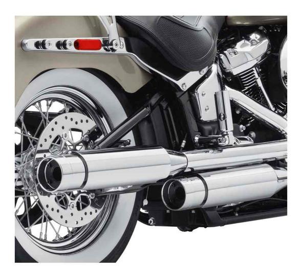 Harley-Davidson Screamin Eagle Street Cannon Mufflers - Short, Domestic 64900636 - Wisconsin Harley-Davidson