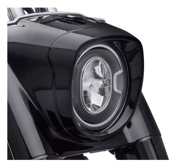 Harley-Davidson Fat Boy Nacelle Headlamp Bezel,Fits FLFB & FLFBS Models 61400509 - Wisconsin Harley-Davidson