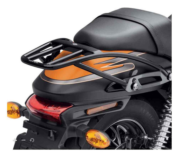 Harley-Davidson Detachable Two-Up Luggage Rack - Black, Fits XG Models 50300091 - Wisconsin Harley-Davidson
